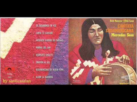 """Mercedes Sosa """"Cantata sudamericana"""" (1972) Completo Full"""