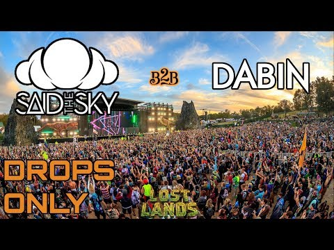 Said The Sky b2b Dabin @ Lost Lands Festival 2019 | Drops Only