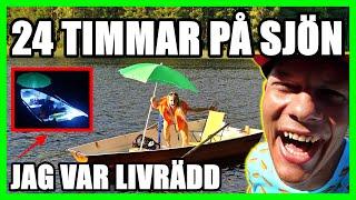 24 TIMMAR PÅ SJÖN *JAG VAR LIVRÄDD*