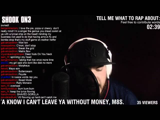 Tell Me What to Rap About - The New Breed Of Twitch