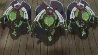 Gintoki and Katsura vs Space Pirates Harusame