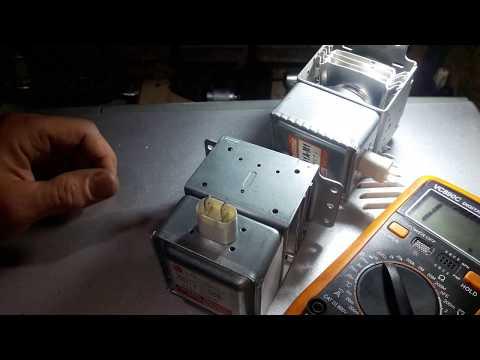 Как проверить магнетрон?