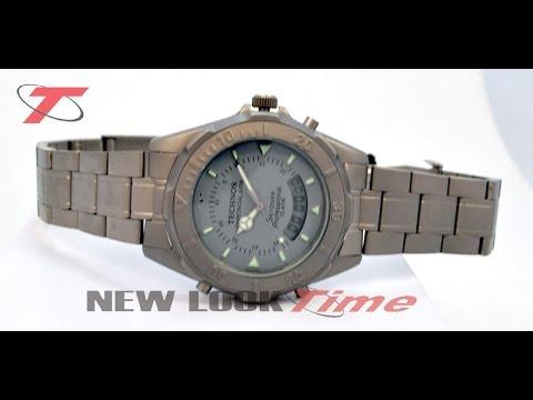 5caf310dedb Relógio TECHNOS Masculino PERFORMANCE SKYDIVER T20557 9B - (Unboxing ...