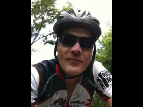 Biking W&OD Trail