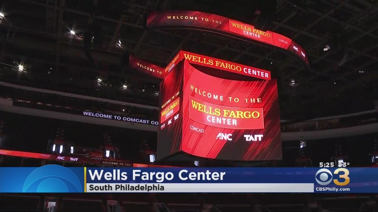 Wells Fargo Center Gives Sneak Peek Of New Kinetic 4k Scoreboard