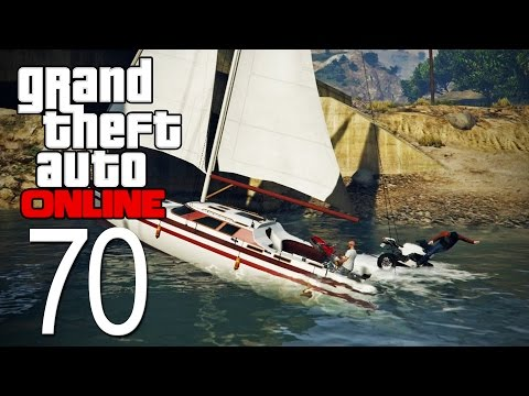 GTA 5 Online - Episode 70 - Boating Accident!