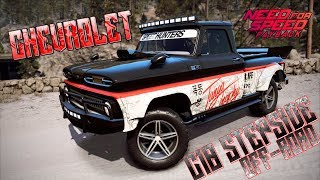 NEED FOR SPEED PAYBACK - Chevrolet C10 Stepside Pickup 1965 - Visual Customization - SUPERBUILD
