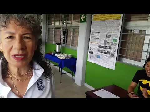 Entrevista con la Dra Silvia Ramos  IX Semana De Ciencias de La Tierra  Oct 2018