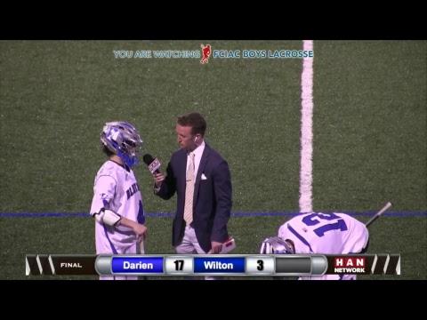 HAN Sports: FCIAC Boys Lacrosse Semifinals #1 Darien vs. #5 Wilton 5.23.17