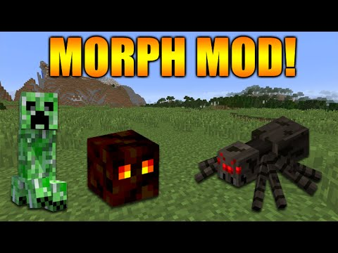 ★Minecraft Xbox 360 + PS3: NEW Morph MOD! Turn Into Minecraft Mobs, Creeper, Spider & MORE!★
