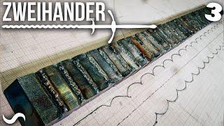 MAKING A ZWEIHANDER SWORD!!! Part 3