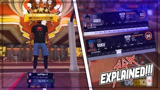 98 OVERALL GLITCH *EXPLAINED* INSTANT BADGES! DEMIGOD GLITCH NBA2K19! BEST DEMIGOD BUILD!