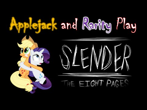 [MLP Special] Applejack and Rarity Play Slender