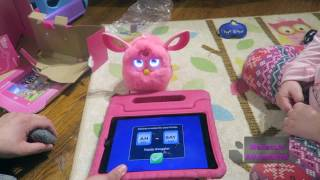Unboxing Furby Connect!!!!! PINK FURBY