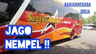 Jago Nempel ! Trip Report Bus Sugeng Rahayu PATAS Banjarnegara - Jogja