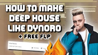 How to make a viral deep house remix like Dynoro + FREE FLP (Lithuania HQ, Selected, Strange Fruits)
