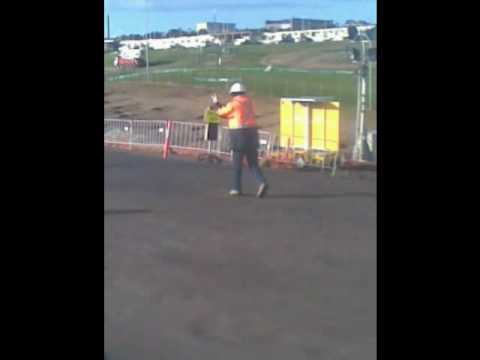 Troy The Adelaide Desal Dancing Trafic Man