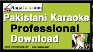Aj kala jora pa - Pakistani Karaoke Track