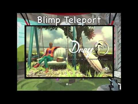 PS HOME- Poster/Blimp Teleporting Glitch