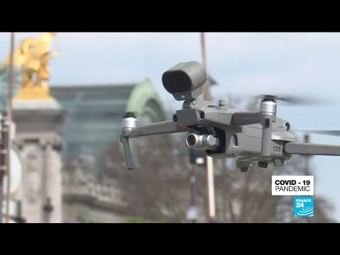Coronavirus: French Police Deploy Drones To Enforce Restrictions
