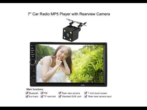 TechChecker #181 KKmoon Double Din BT Car Stereo 7 inch Video + HD RearView Camera