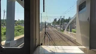 臨時快速 青森→浪岡【奥羽本線・701系・前面展望 特急つがる代走】 2020.05.30 JR Ōu Main Line (Extra Rapid)