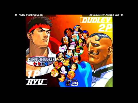 Street Fighter III: 3rd Strike @ NLBC #147 - Casual Play [720p/60fps]