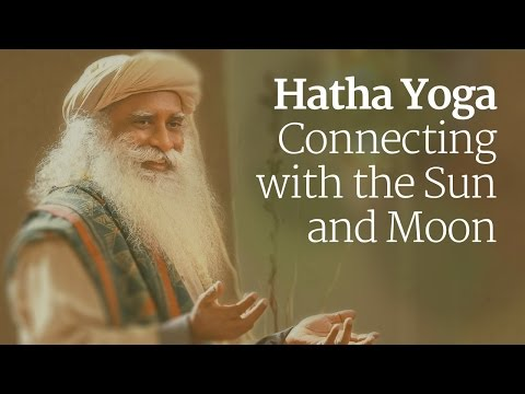 Hatha Yoga - Connecting with the Sun and Moon