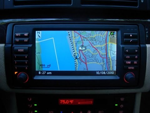 bmw oem 16 9 e46 cd navigation monitor vs dynavin dvn e46. Black Bedroom Furniture Sets. Home Design Ideas