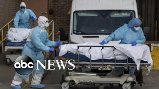 US coronavirus death toll nears 200,000