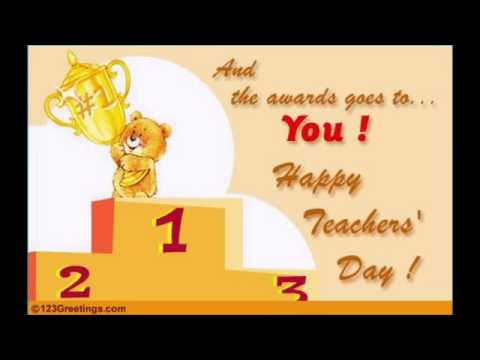 Happy Teachers Day 2015 Wishes Greetings  Song MP4 3GP HD Download
