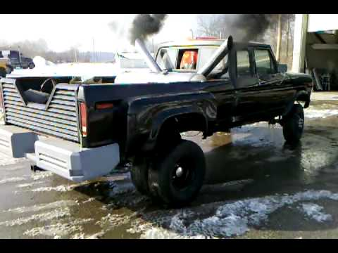1979 Ford Cummins Dually Youtube