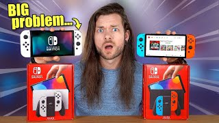 The NEW Nintendo Switch OLEDs have a BIG Problem!