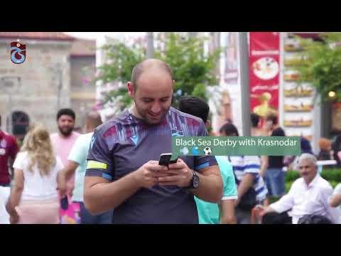 Trabzonspor'dan UEFA Avrupa Ligi paylaşımı - YouTube