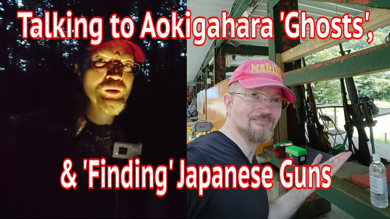 Talking to Aokigahara 'ghosts' and 'finding' Japanese guns