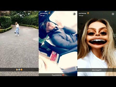 Perrie Edwards ► Snapchat Story ◄ 24 April 2017 w/ Boyfriend Alex Oxlade-Chamberlain