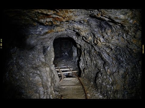Heading Underground at 'The Great Cwmystwyth Mines' in Wales