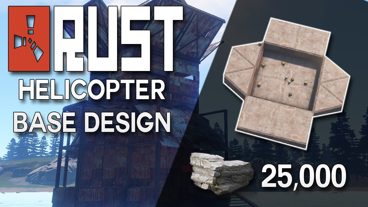 Rust Helicopter Tower Design