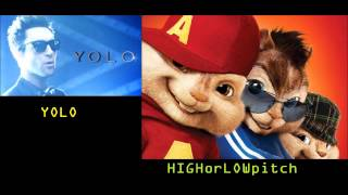 The Lonely Island - YOLO (feat. Adam Levine & Kendrick Lamar) CHIPMUNKS verrsion