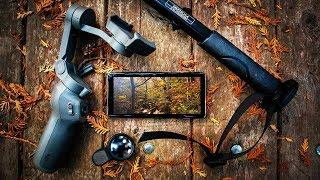 كيفية اطلاق النار ب لفة مع DJI أوسمو 3, Samsung Galaxy S10 زائد الروبوت, CPL تصفية monopod