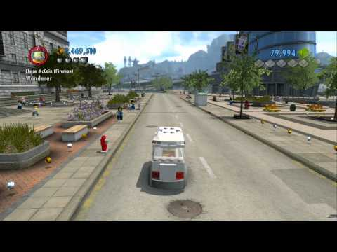 LEGO City Undercover 100% Guide - Uptown (Overworld Area) - All Collectibles