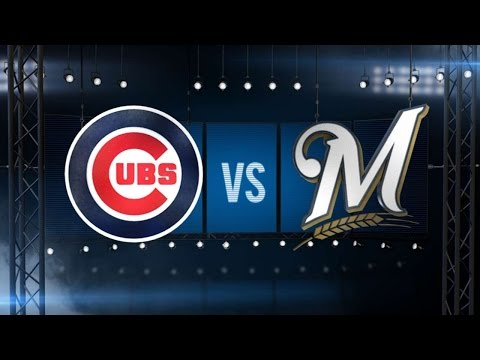 9/5/16: Coghlan plates three as Cubs top Brewers, 7-2