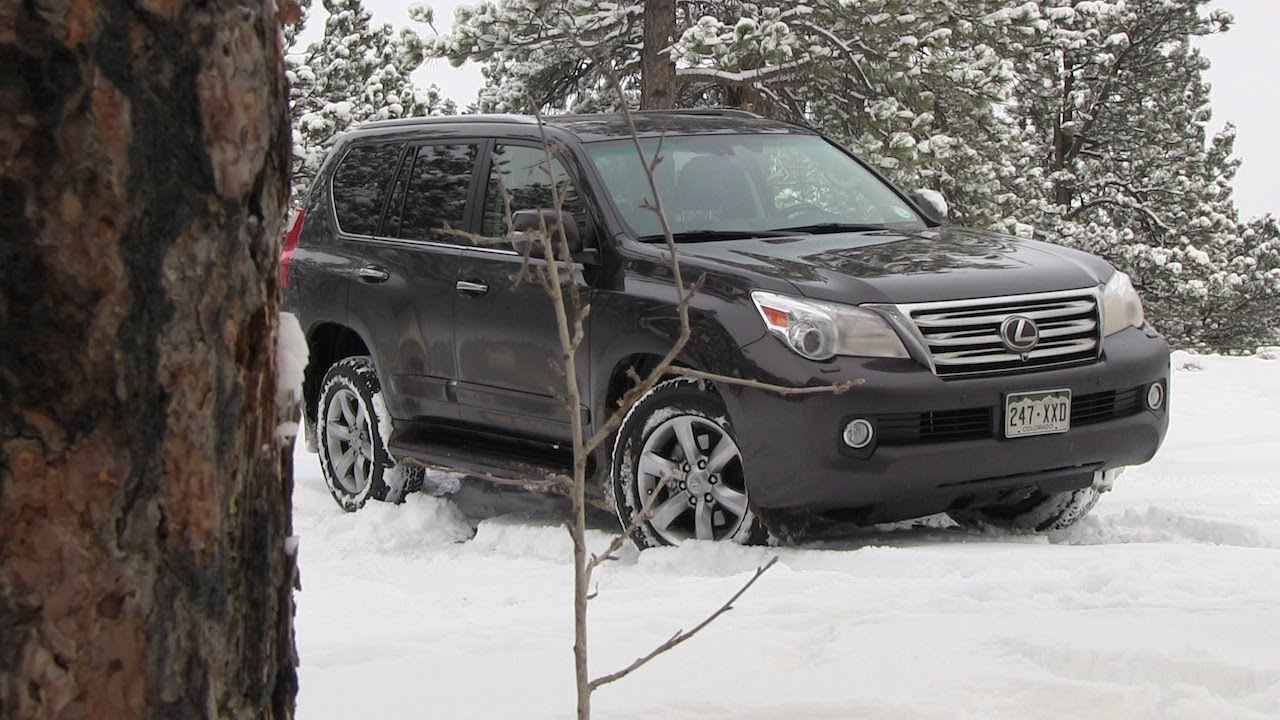 2013 Lexus GX 460 Snowy Colorado Off-Road 4WD Tech Demo Review