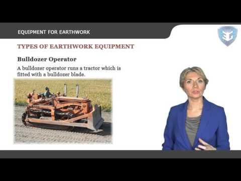 EQUIPMENT FOR EARTHWORK New