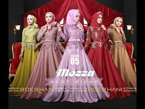 Baju Pesta Muslim Modern Cantik Mewah Mozza Vol 5 2017 / 2018