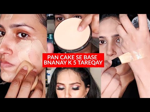 Tv Paint Stick par Pan Cake Lganay k 5 Tariqay | How To Apply Pan Cake On Tv Paint Stick