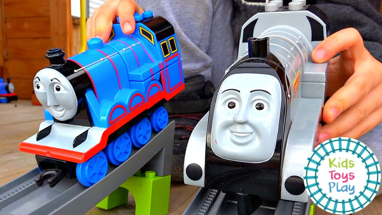 Thomas the Tank Engine Toy Train Crashes Compilation Video