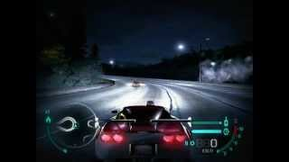 Need For Speed Carbon Chevrolet Corvette TOP SPEED 460 km/h Gameplay pc