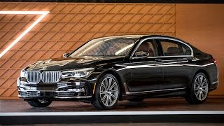 2016 BMW 7 Series 750i 740i PREVIEW & In Depth Tech Overview