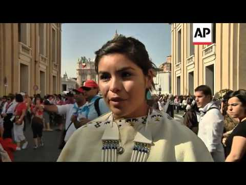 Native Americans and Filipinos thrilled about new saints
